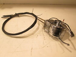 Vintage Mercury Dual Remote Control Console Mount W 2 Cables For Parts Only