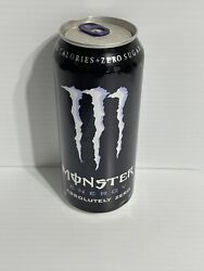 Monster Energy Drink Absolutely Zero Lavender Rare Collector Can Sku 0213