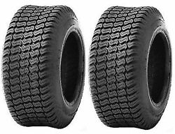 2 - 18x8.50-8 4 Ply Lawn Tractor Turf Master Style Turf Mower Tires 18x8.5-8
