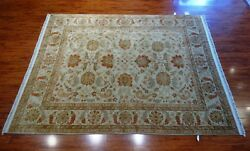 8' X 10' Hand Knotted India Mahal Rug 100 Quality Wool Pile