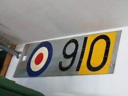 Hawker Sea Fury Side Panel With Royal Navy Markings Rare To Find