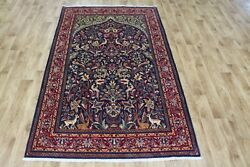 Outstanding Persian Sarouk Rug With Tree Of Life Design 220 X 135 Cm