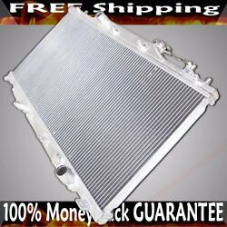 Dual Core Performance Radiator Fits 02-06 Acura Rsx K20 Dc5 Mt 2 Rows 2
