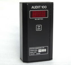 Audit 100 Baugh And Weedon England Microprocessor Ultrasonic Thickness Gauge