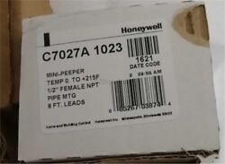 Honeywell C7027a1023 Control Box Combustion Program For Burner Controller Wc