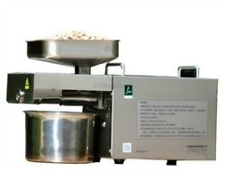 Stainless Steel Presser Automatic New Oil Press Machine Cold Hot Nuts Seeds Yv