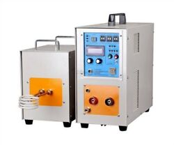 30-80khz New Induction Heater Furnace 15kw High Frequency Zn-15ab Ea