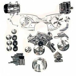 March Performance 30440 Track Serpentine Pulley Kit For Ford 351c 351m 400m