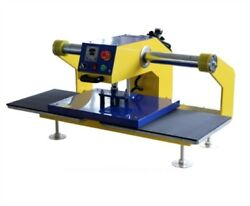 Automatic Heat Press Machine New 15x15 Air For Clothing Double Locations Ii