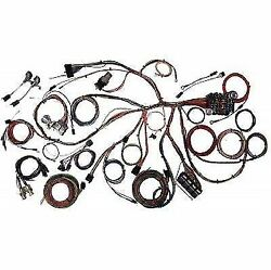 American Autowire 510055- Complete Wiring Kit For 67-68 Mustang