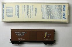 Mtl Micro-trains 42100 42551 Hills Brothers Coffee Hbcx 161 Dym