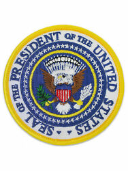 Usa Presidential Seal Embroidered Patch For Jacket Or Backpack