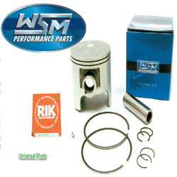 Piston Kit - 1.00mm Oversize to 82.00mm Bore~2004 Kawasaki JS800 800 SX-R~WSM
