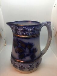 Antique Charles Allerton And Sons England Victorian Pitcher Sold As Is