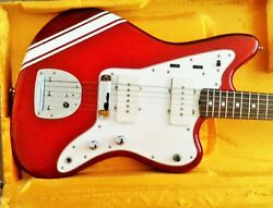 Fender Jazzmaster 2000 Candy Apple Red Mij. Very Good Condition.