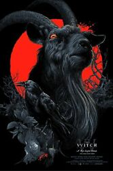 The Witch Vvitch Black Phillip Special Variant Sold Out By Vance Kelly S/n