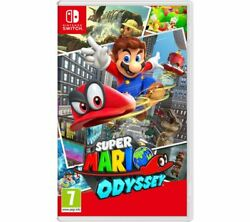 Nintendo Switch Super Mario Odyssey Video Game - Currys
