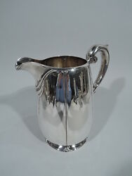Dominick And Haff Water Pitcher - 1302/108 - Antique - American Sterling Silver