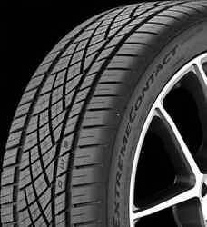 2254517 225/45R17 Continental Extreme Contact DWS06 91W Blk, New Tire - Qty 4