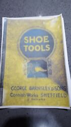 George Barnsley 1927 Tools Part Catalogue Hammers Pliers Pincers Punches