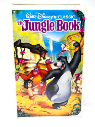 The Jungle Book - VHS Walt Disney Black Diamond Edition Classic 1997 - TESTED