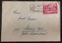 1951 Berlin East Germany Ddr Cover To Mainz Mao Tse Tung  83 Stamp