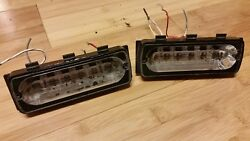 Pair Whelen Lin6 Smart Led Light Heads In Red 4-wire Used