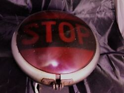 Early Vintage Stop Lamp Car Truck Motorcycle Hot Rat Rod Antique Tail Light Old