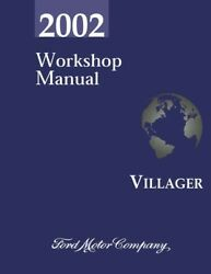 2002 Mercury Villager Shop Service Repair Manual