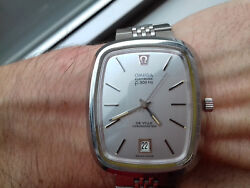 Omega Electronic Chronometer 1250 Vintage Collection New Old Stock Watch Rare