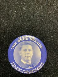 Haines Shoe Wizard Trade Token Pocket Mirror1900and039s