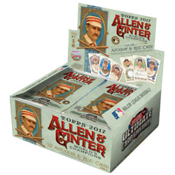 2017 Topps Allen And Ginter Baseball 24 Pack 8 Box Case Factory Sealed Judge