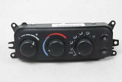 2002-2005 DODGE RAM 1500 2500 CLIMATE HEATER TEMPERATURE CONTROL DEFROST UNIT