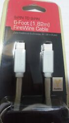 High Quality Firewire Cable 6-foot Gigaware 6 Pin To 9 Pin