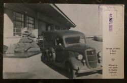 1936 Johannesburg South Africa Rppc Postcard Cover To Hong Kong Mail Delivery