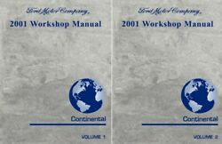 2001 Lincoln Continental Shop Service Repair Manual