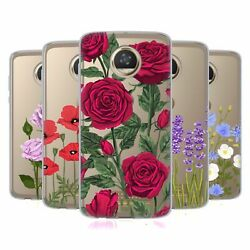 Head Case Designs Roses And Wildflowers Gel Case And Wallpaper For Motorola Phones