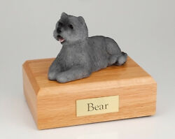 Gray Cairn Terrier Pet Funeral Cremation Urn Available 3 Diff Colors And 4 Sizes