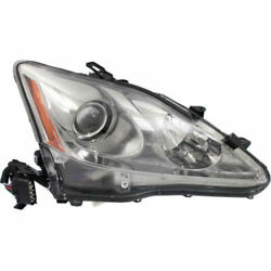 New Hid Head Lamp Lens And Housing Rh Side Fits Lexus Is250 Lx2519124