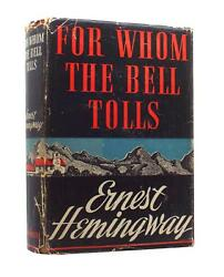 Ernest Hemingway – For Whom The Bell Tolls – Signed First US Edition 1940 - 1st