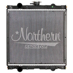 Case/ih Ford/new Holland Tractor Radiator - 16 3/4 X 17 5/8 X 2 1/4