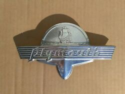 1930's-1940's Plymouth Trunk Emblem, 36 37 38 39 40 41