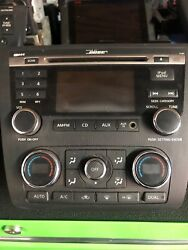 10-12 NISSAN ALTIMA BOSE Radio Receiver CD Climate Digital AC OEM 28185ZX00A