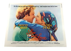 Leo And Loree Half Sheet Theatrical Movie Poster 28x22 Vintage Ron Howard