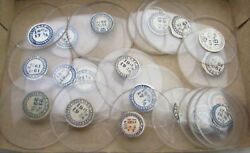 1 Hunter Case Pocket watch crystal. One 1 only 30 mm to 43 mm your choice