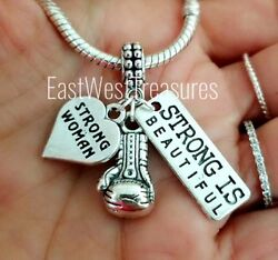 Champion Boxing Gloves charm pendant Bracelet necklace jewelry gift for Boxer