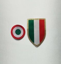 Scudetto Patch, Coppa Italia Patch, Juventus Official Stilscreen Patch