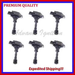 6PC IGNITION COIL FOR NISSAN MURANO 3.5L V6 2009 2010 2011 2012 2013 2014 JIN550