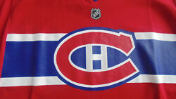 Montreal Canadiens Reebok Youth Jersey Size L/xl New With Tags Red