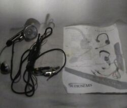 Vntg Audiosears Switchboard Operator Telephone Headset-Handset Model 52EB 1490EC